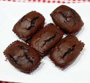 Les minis muffins au chocolat de Romain B.