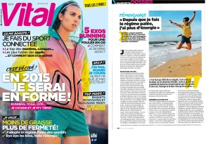 Blandine en interview dans VITAL