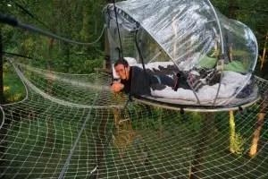 Dormez dans une bulle :)