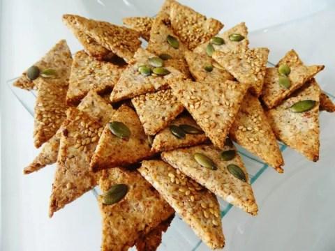 Crackers Paléo croustillants et savoureux 1