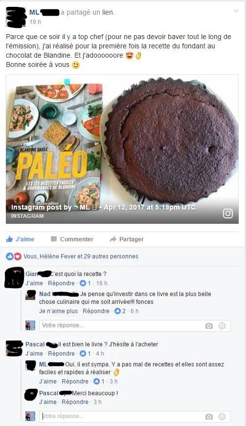 livre Paléo Blandine