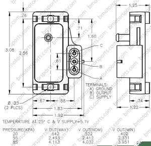 Home » Shop » Sensors » Pressure Sensors » Delphi  GM 1