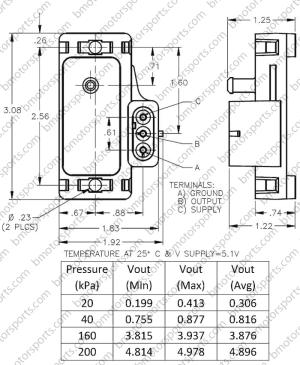 Home » Shop » Sensors » Pressure Sensors » Delphi  GM 2