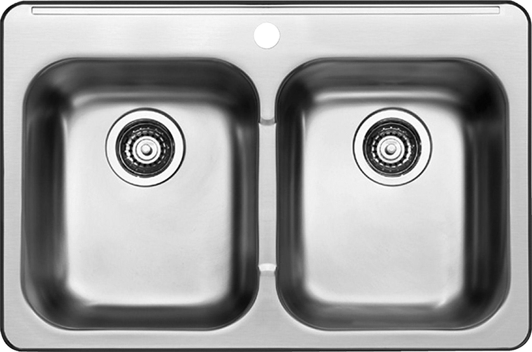 kitchen double sink