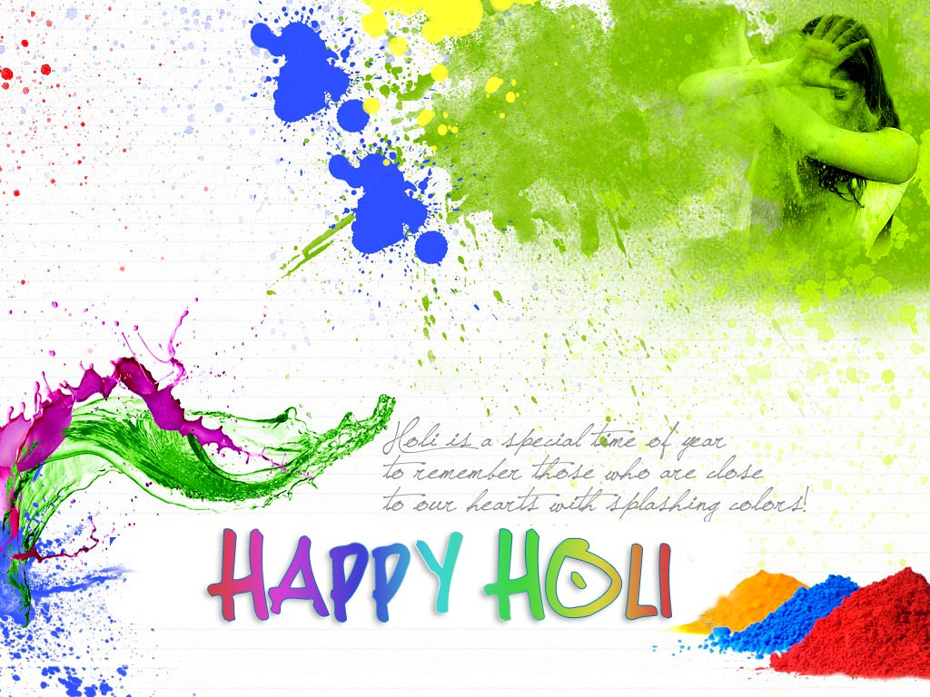 Top 50 Sweet Awesome Lovely Colorful Happy Holi 2014 Hd Images