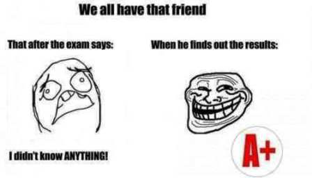 5 Most Awesome Hilarious Exams Trolls, Jokes, Memes