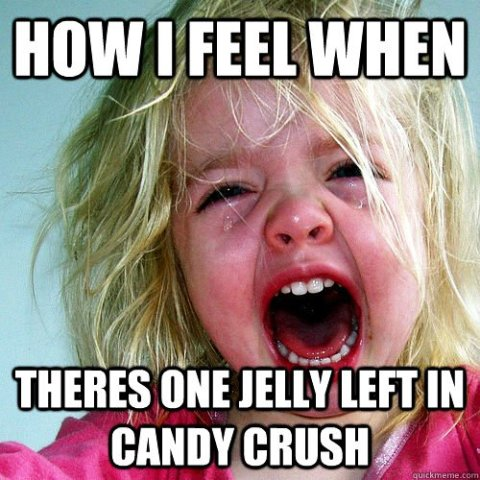 candy crush memes jelly