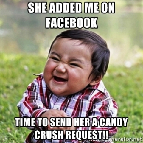 candy crush memes request