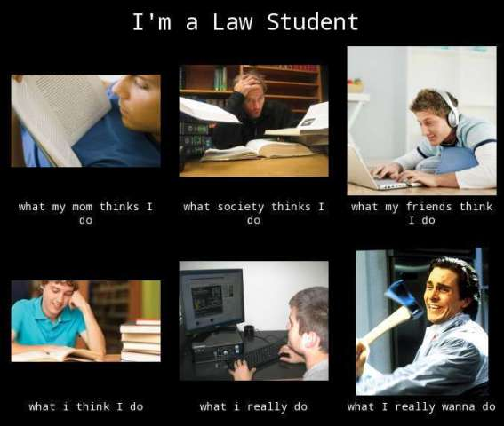 You Know You Are A Law Student When 10 Terrible, Qu...