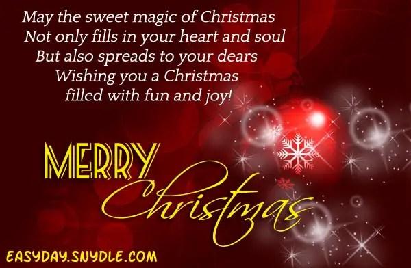 Top 10 Cute Inspirational Happy Christmas 25th December 2014 Shayari ...