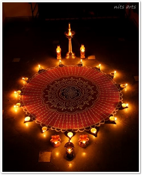 Decorating Home For Diwali: Happy Sarvalaya Deepam 2014 HD Images, Greetings