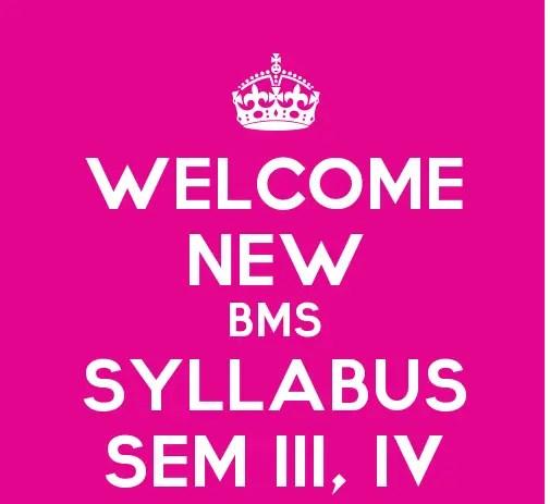 Sybms sem iii sem iv revised syllabus with effect from the year sybms sem iii sem iv revised syllabus with effect from the year 2015 16 bms malvernweather Gallery