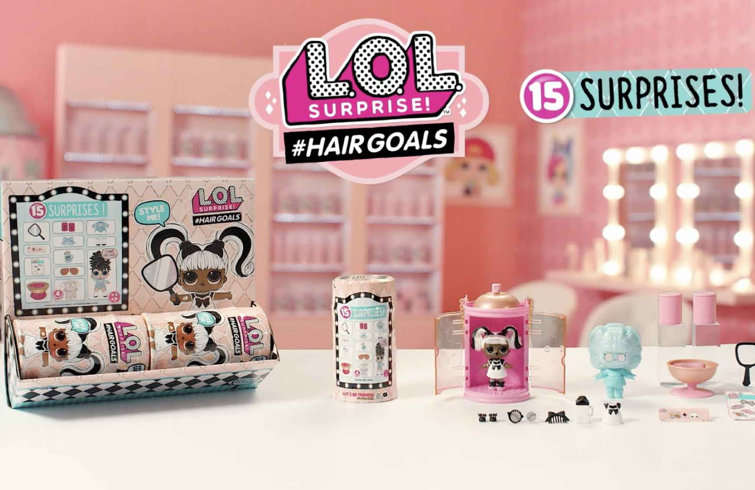 L O L Surprise Makeover Series Hairgoals Capsule Advert