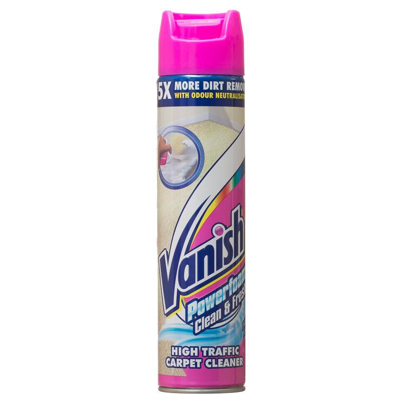 Vanish Powerfoam 600ml Stain Remover Carpet Cleaner