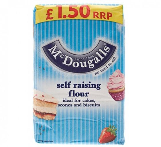 McDougalls Self-Raising Flour 1.25kg | Groceries - B&M