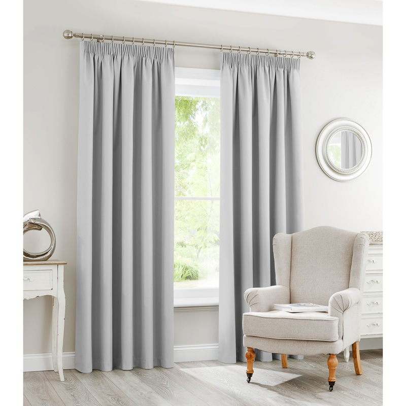 Silent Night Blackout Fully Lined Curtains 66 X 72 Home BampM
