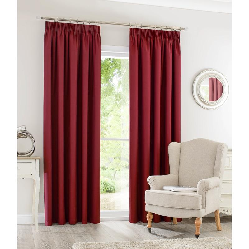 Silent Night Blackout Curtains 46 X 72 Home BampM