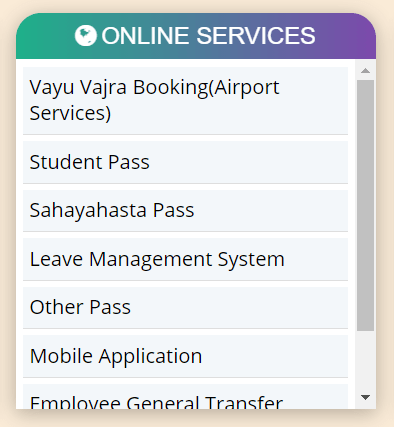 check the last date on bmtc