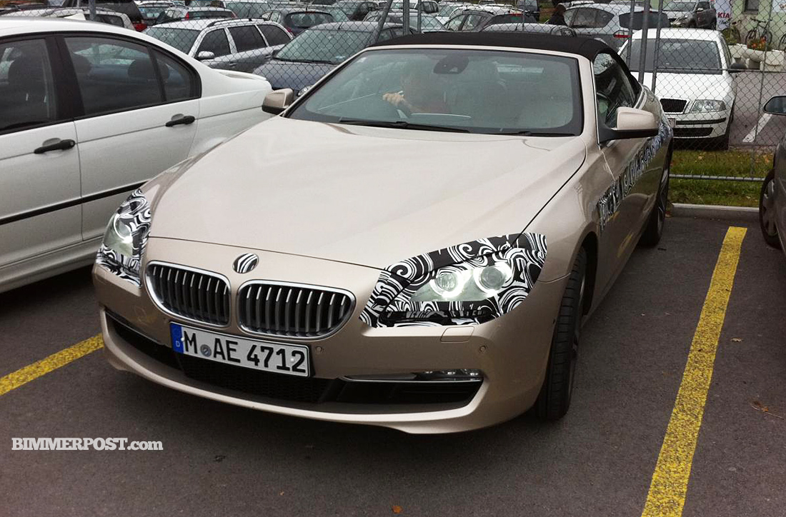 Spy Photos 2012 Bmw 6 Series Convertible Best Shots Yet Bmw Sg Bmw Singapore Owners Community
