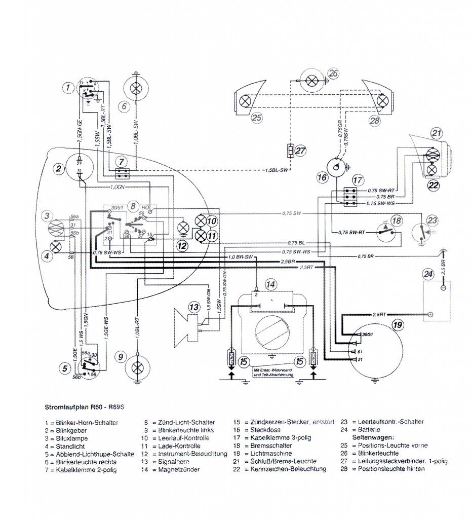 Bmw R65 Fuse Box : Bmw motorcycle wiring diagram imageresizertool
