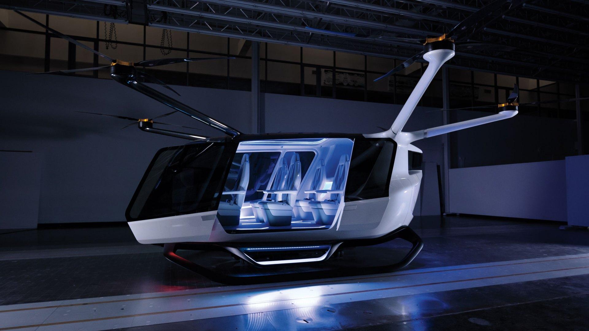 Skai Global hydrogen-powered aircraft concept