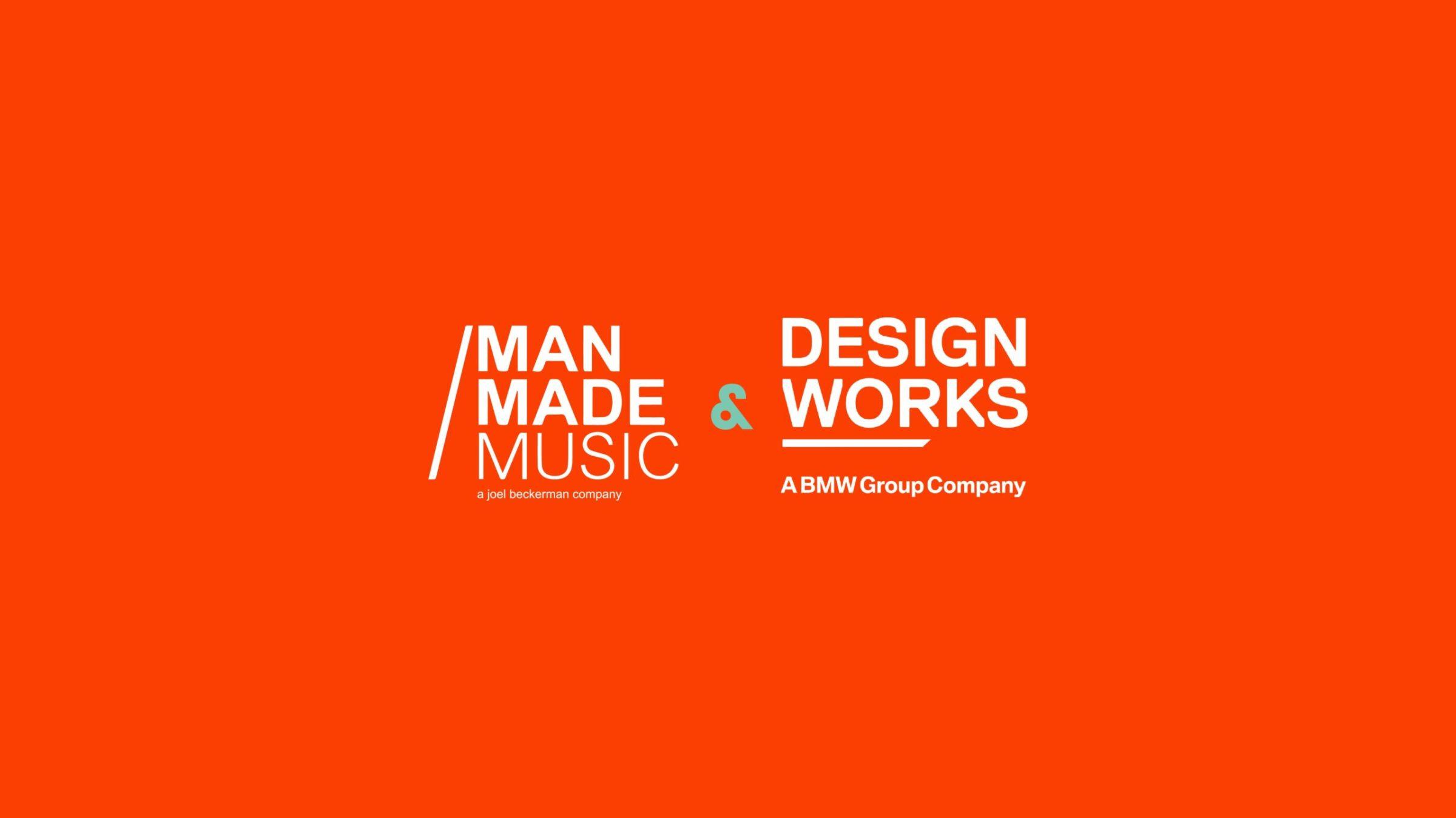 Man Made Music + Designworks Logos