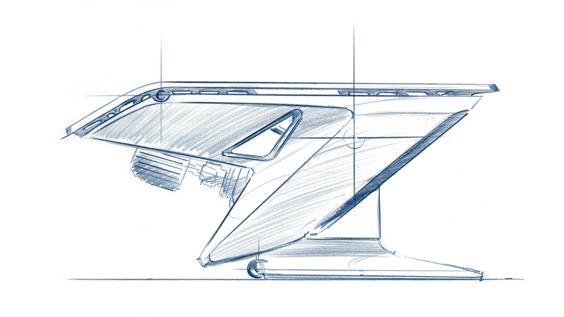 Fusion SL design sketch.