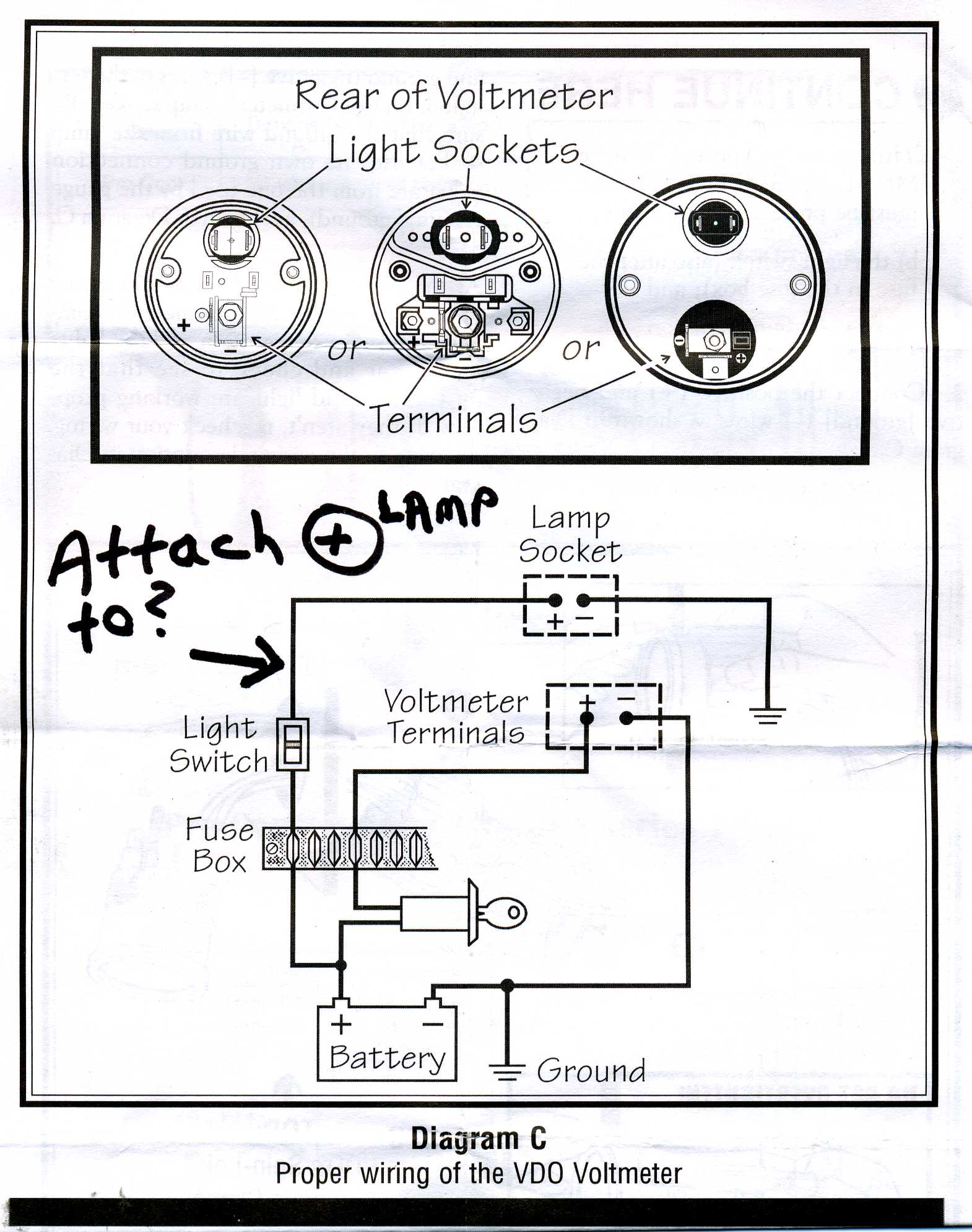 Wiring Diagram Vdo Electric Tack Further Boat Fuel Gauge
