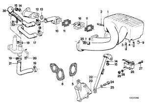 2001 Bmw 325i vacuum diagram