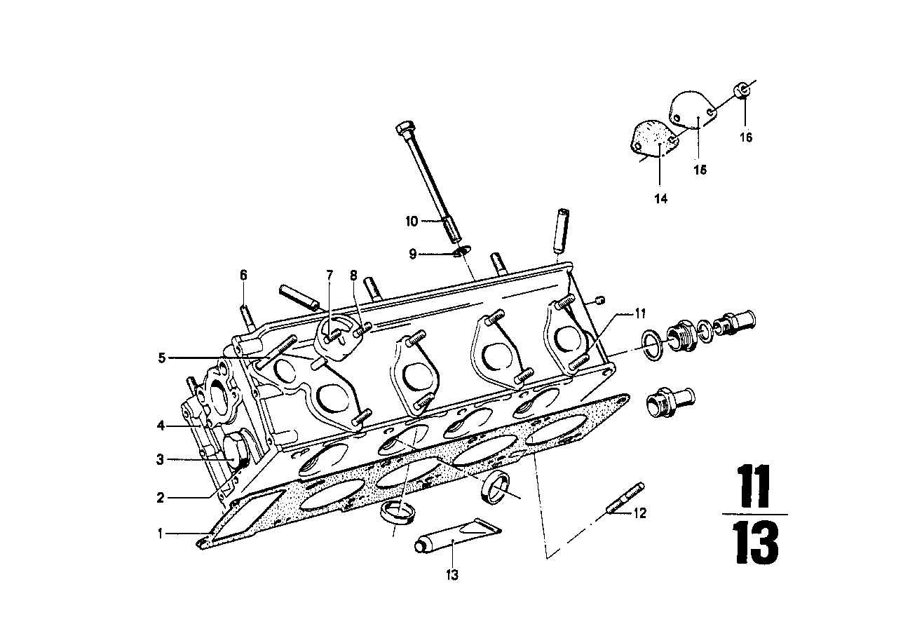 Bmw Cylinder Head Amp Attached Parts