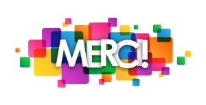 Carte «MERCI»