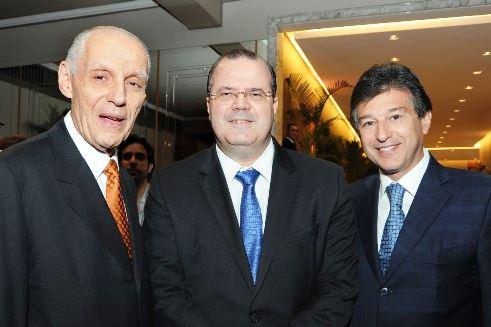 JaymeBlay, Alexandre Tombini e Claudio Lottenberg
