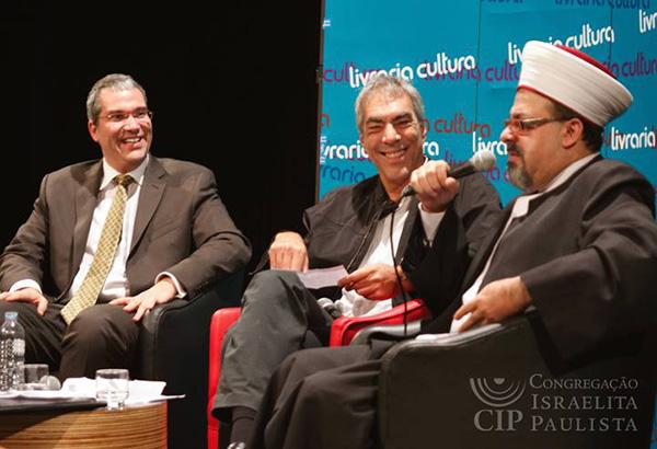 Xeque e rabino debatem em São Paulo Paz e Jihad