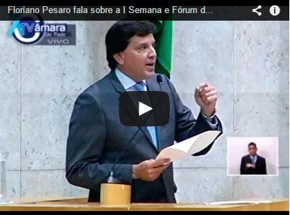 Floriano Pesaro condena apoio da Prefeitura de SP a Fórum Palestino que demoniza Israel