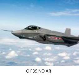 O F35 no ar