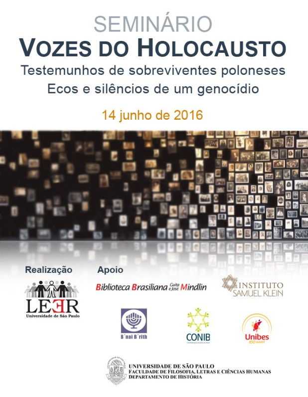 SEMINÁRIO VOZES DO HOLOCAUSTO