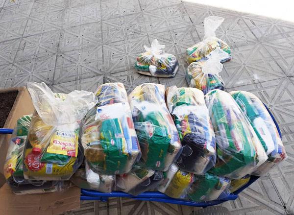 campanhas para arrecadação e doação de produtos de primeira necessidade