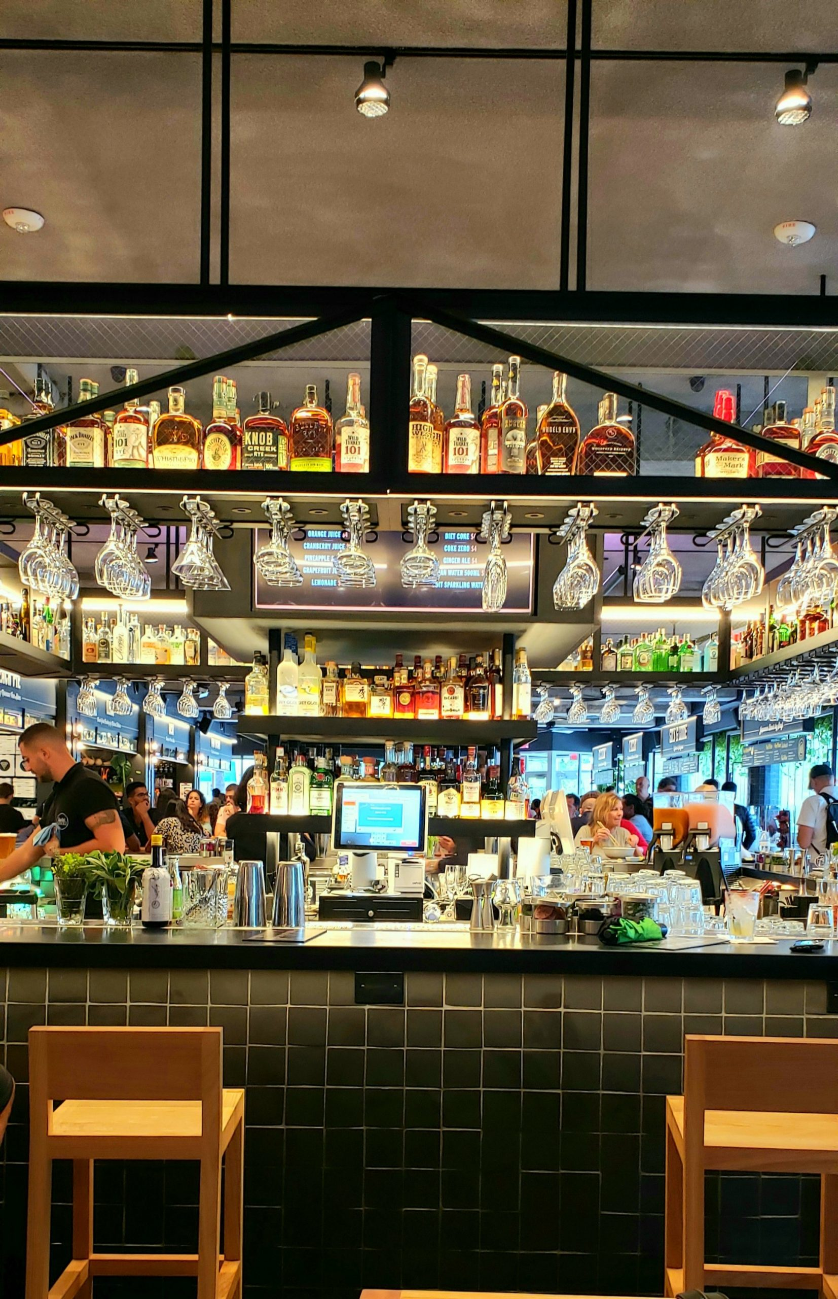 Main Bar inside Time Out Market Miami