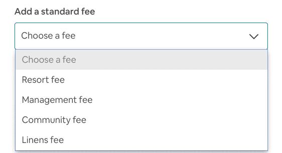 Set Airbnb linen fee