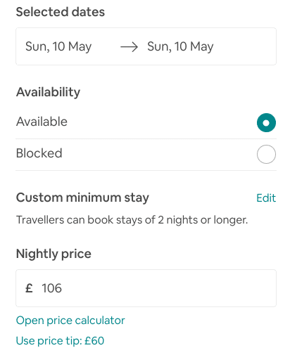 Use Price Suggestion for Airbnb SEO