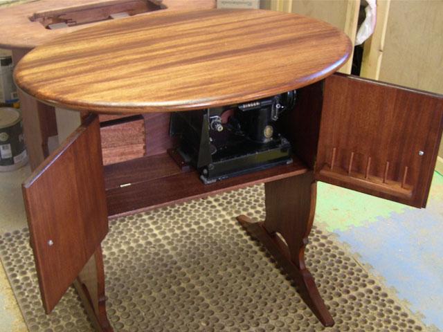 Mahogany Cabinet B Amp D Design