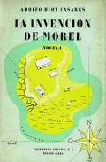 Cubierta de la novela La invención de Morel de Adolfo Bio Casares.