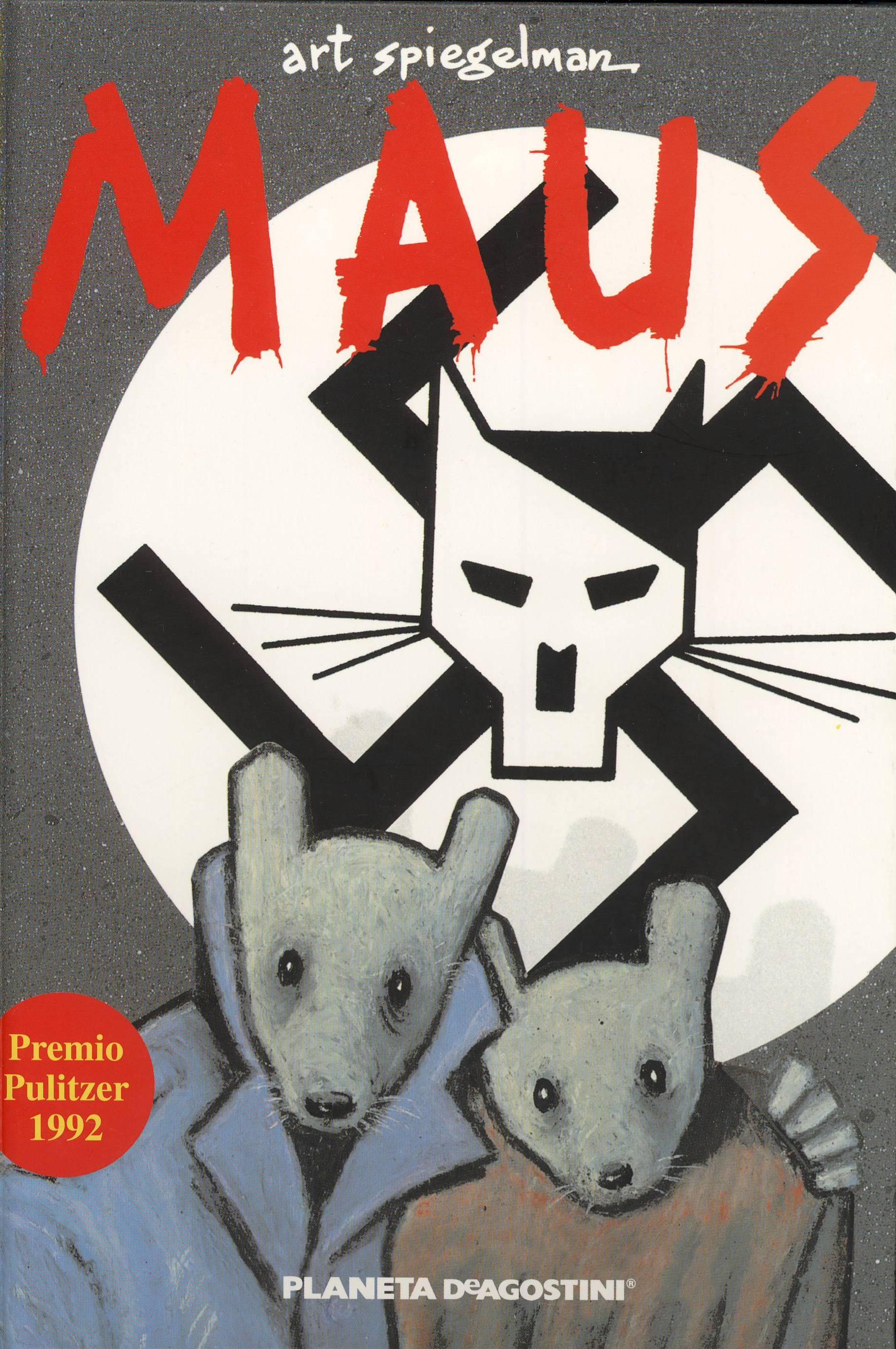 Portada del cómic Maus de Art Spiegelman
