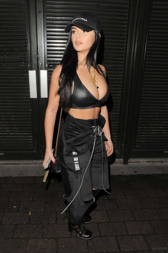 Demi Rose Hot Photoshoot At DJ Chris Martinez at Fabric Club