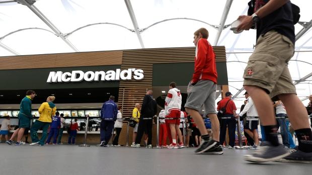 McDonald's at the Olympics