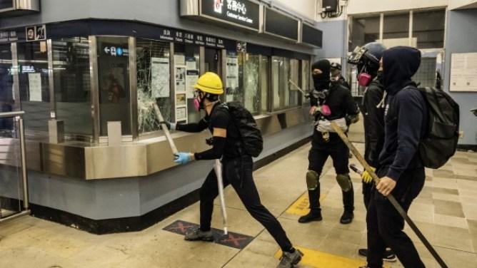 Image result for hong kong crisis nov. 12