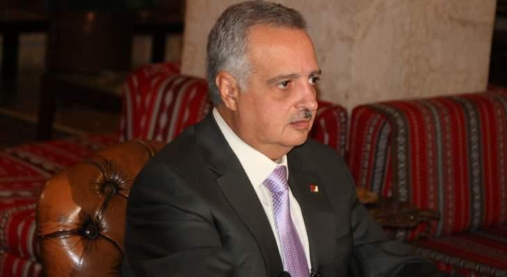 ارسلان: اللقاء مع جنبلاط لتنظيم الخلاف على قاعدة حماية الاستقرار في الجبل ولبنان