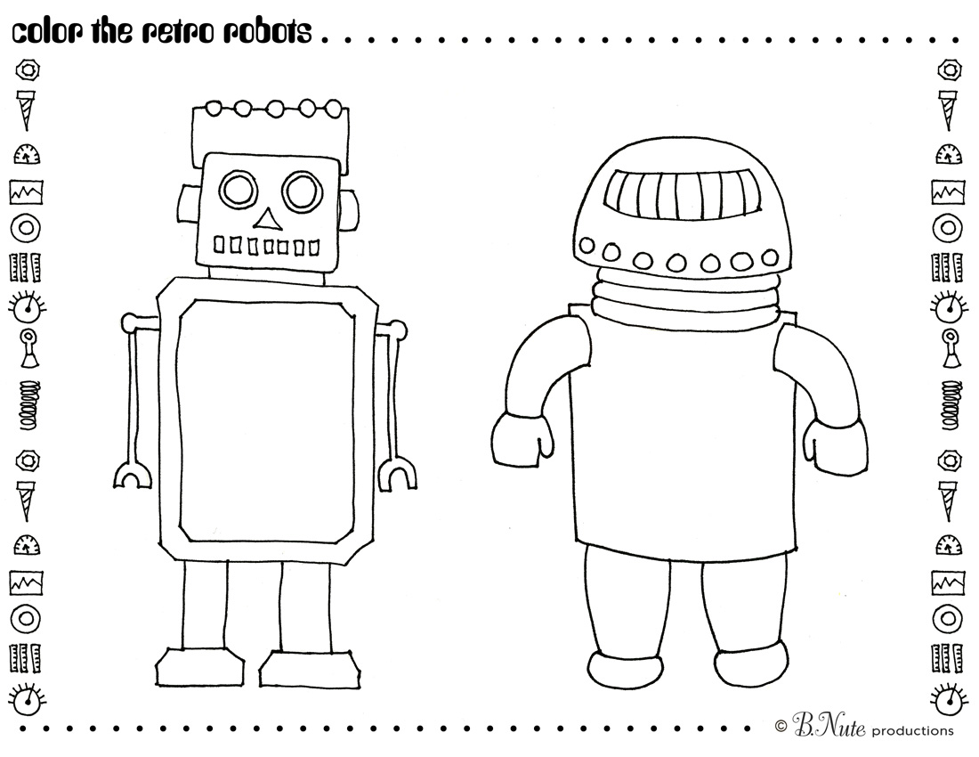 Kids Robot Yoga Lesson Plan