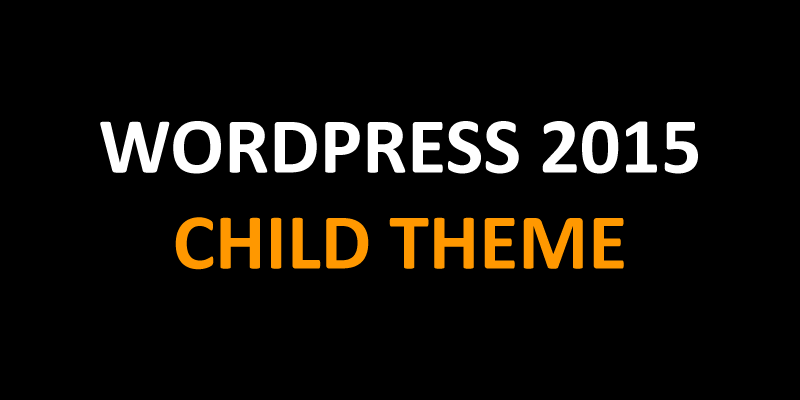WordPress 2015 Child Theme