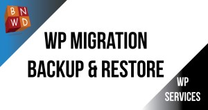 WordPress Migration, Backup and Restoration within 48 hours